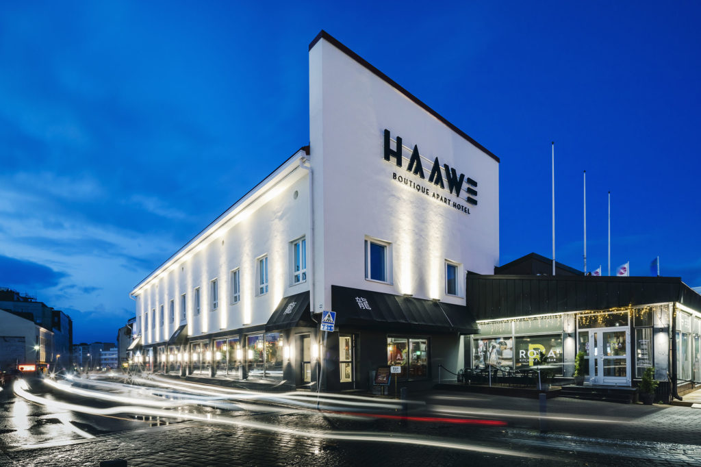 Apartment hotel Haawe provides luxurious accommodation in Rovaniemi.
