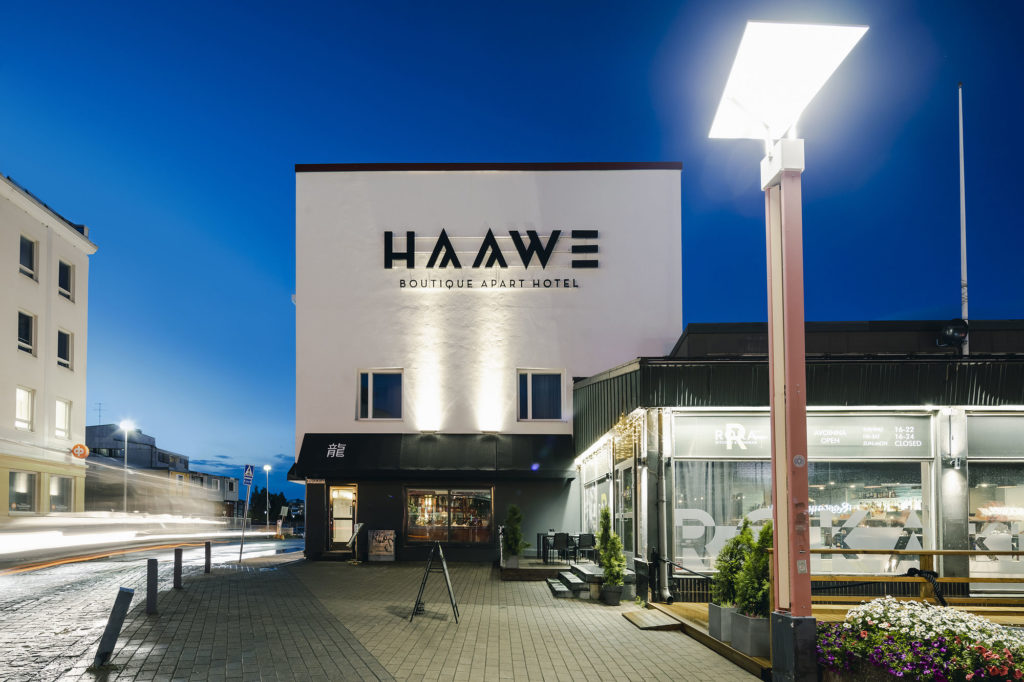The Haawe hotel is located in Rovaniemi.