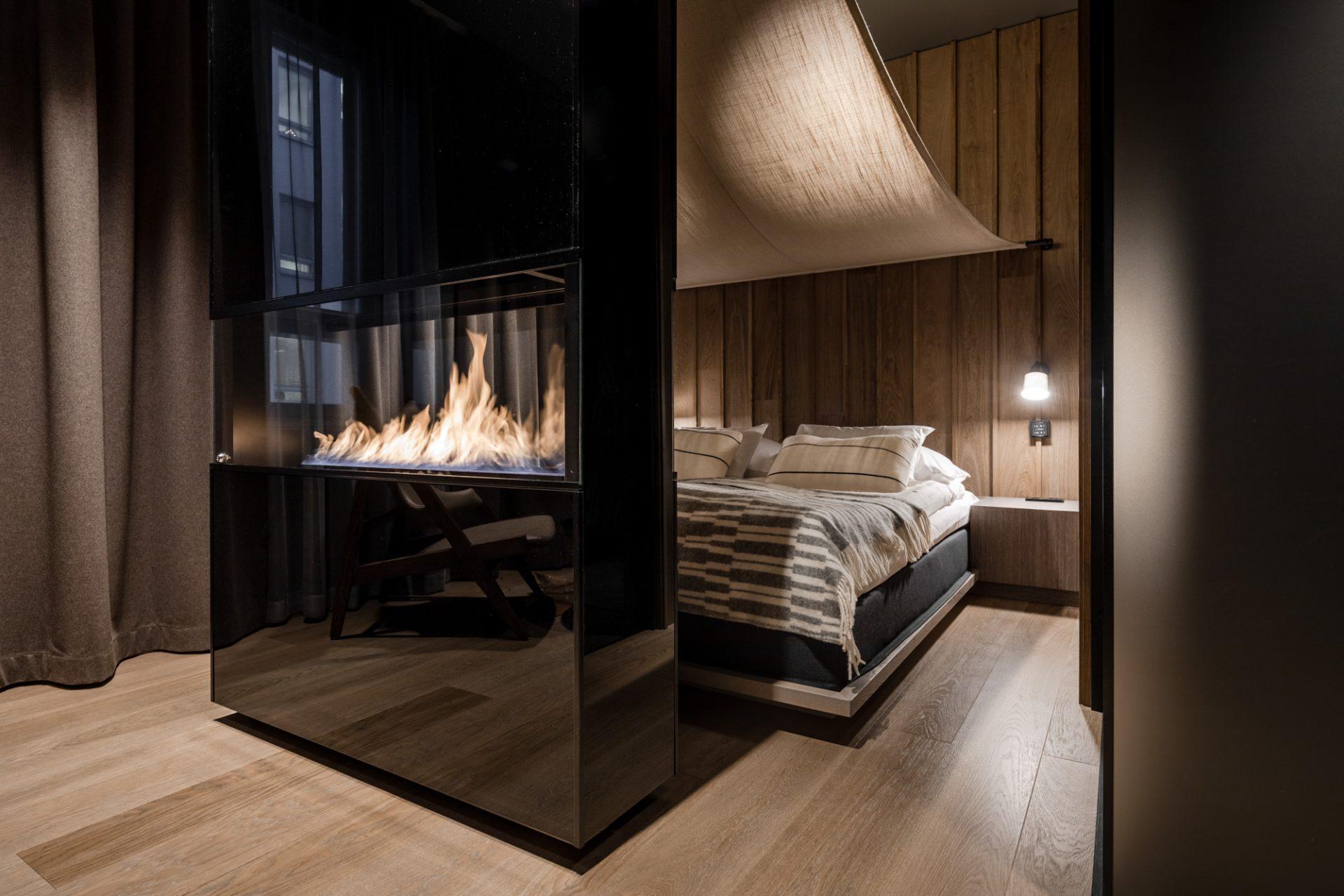 Kota-huoneeseen mahtuu majoittumaan kaksi vierasta.