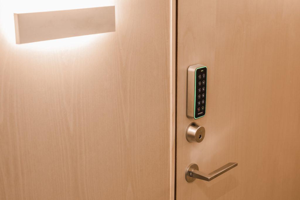 Huoneen avaimeton koodilukko